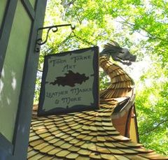 Tiger Torre Art Sign at MD Ren Faire